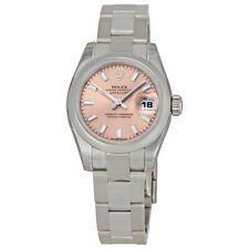 Rolex Lady Datejust 26 Pink Dial Stainless Steel Rolex Oyster Automatic Watch