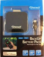 Naztech Apple Certified BP1500 Battery Backup iPod/iPhones 3G, 3Gs, 4, 4 and 4S
