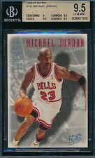 MICHAEL JORDAN 96-97 FLEER ULTRA EFFORT PLATINUM MEDALLION BGS 9.5 GEM!