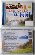 MUSIKANTENWELT Heino, Walter Scholz, Steirerbluat,... Ariola DO-CD OVP/NEU