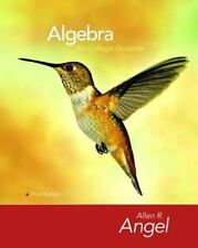 Algebra For College Students by Allen R Angel