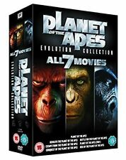 PLANET OF THE APES: Evolution Collection - ALL 7 MOVIES - [DVD 2011] Region 2**