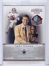 2016 Panini Eternal Troy Aikman Hall of Fame Football Card - Only 168 made!