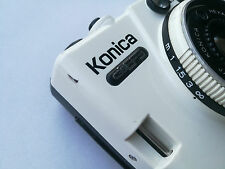 Konica C35 EF3 - compact 35mm film camera - made in Japan - f2.8 / 35mm lens