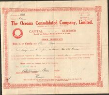 THE OCEANA Consolidated Cy (AFRIQUE DU SUD) (O)