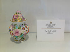 c1975 SUPER RARE COALPORT COALBROOKDALE TRINKET POT LIMITED EDITION 132 OF 250