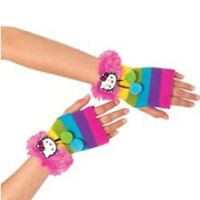 Hello Kitty Fuzzy Glovelettes Child 1 Pair