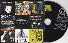 CD CARTONNE CARDSLEEVE COLLECTOR DAVID GUETTA 10 TUBES REMIX SEAT IBIZA