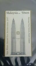 Malaysia 2007 Aga Khan Award KLCC Twin Towers Single stamp MNH perfect clean
