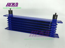 7 ROW AN-10AN UNIVERSAL ENGINE TRANSMISSION OIL COOLER Blue