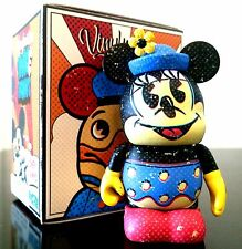 DISNEY Vinylmation Ink & Paint Complete Set w/ Minnie Chaser opened boxes & bags