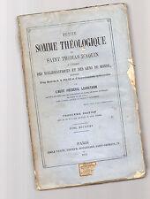 petite somme theologique de saint thomas d'aquin par l abbe' frederic lebrethon