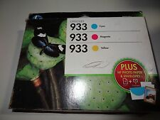 HP 933 TRICOLOR INK COMBO-PACK NEW EXP 1/2016 new in box
