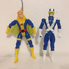 X-men Banshee & Cyclops Figure - Marvel Toy Biz 1992 1991
