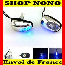 2 Gicleurs de lave-glace à LED  Bleu  type R de France en 24h