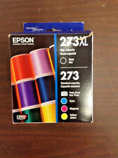 Epson 273XL/273 High Yield Black and Standard PHB,C,M,Y 5/Pack Expires 2017/18!