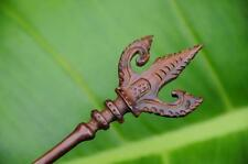 Carved BALI wooden HAIR STICK PICK / SHAWL PIN handmade Sono wood new elegant