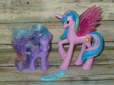 My Little Pony Canterlot PRINCESS CELESTIA & PRINCESS LUNA Ponies Set Lot of 2