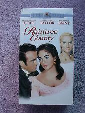 m  Raintree County Montgomery Clift  Elizabeth Taylor Eva Marie Saint  VHS