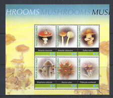 PAPUA and NEW GUINEA 200? MUSHROOMS CHAMPIGNONS souvenir sheet VF MNH