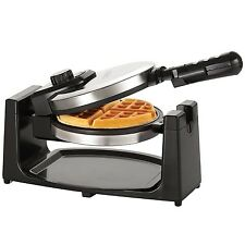 Professional Belgian Waffle Maker Non Stick Polished Iron Stainess Steel Waffler