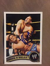 Konnor Signed WWE Topps 2011 NXT Card Connor O'Brian