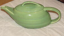 Vintage 1950's Bauer Light Green (Jade?) Teapot with Lid