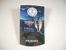 "UEFA-Champions League tm Pin ""Pokal+Final San Siro 2016"" Cup Trophy CL Badge"
