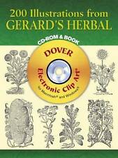 """NEW """"200 Illustrations from Gerard's Herbal"""" by John Gerard (Mixed Media, 2005)"""