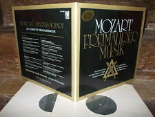 MOZART: Complete Masonic music=Freimauer Musik   Vienna Maag /FSM Germany stereo