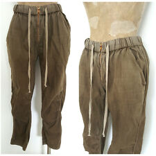 Citizens of Humanity Pants Size Medium Khaki Drawstring Jerome Dahan C of H