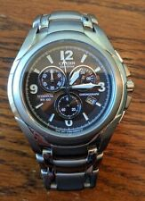 Citizen Eco-Drive Titanium Chronograph H500 (Sized for 6in wrist!)
