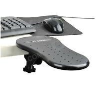 PC Computer Laptop Arm Wrist Rest Desk Table Pad Support Forearm Armrest -Black