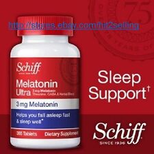 Schiff Melatonin Ultra (365 Tab.) Sleep Support 3mg Melatonin, Exp. Date 01/2018