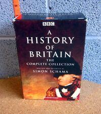 HISTORY OF BRITAIN box-set 6-DVD complete series BBC Simon Schama 2006 Elizabeth