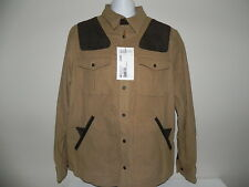 NEW Beretta Gallery Country Moleskin Overshirt Camel Large