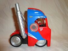 MARVEL SUPERHERO SQUAD VEHICLE SPIDERMAN Truck Cab Heavy Duty Toy 6""
