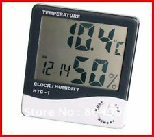 Hygro Thermometer : Monitor Room Temperature, Humidity continuously + with Clock