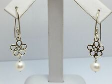 STERLING SILVER 925 ALE AKOYA PEARL DANGLE EARRINGS FROM JARED