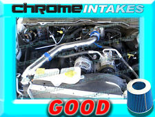 BLUE 02 03 04 05 06 07 DODGE RAM 1500 4.7L V8 FULL COLD AIR INTAKE KIT STAGE 3