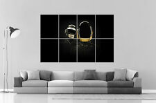 DAFT PUNK DJ Wall Art Poster Grand format A0 Large Print 02