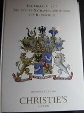 THE COLLECTION OF THE BARONS NATHANIEL ALBERT VON ROTHSCHILD CHRISTIE'S 1999