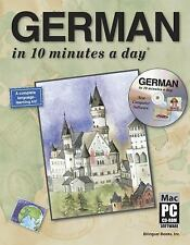 GERMAN in 10 minutes a day® with CD-ROM, Kershul, Kristine K., Acceptable Book