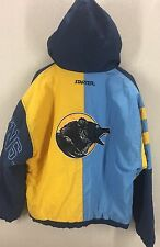Vintage 90s Starter UCLA Bruins Pullover Zip Up Hooded Jacket Coat~Sz Large