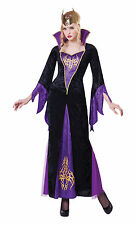 Sorceress Evil Queen Halloween Fancy Dress Costume Size 10-14 P9347