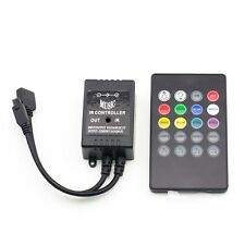 20 keys Infrared Music Controller IR Dimmer Remote for 5050 / 3528 RGB LED Strip