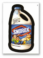 WACKY PACKAGES SERIES #3 - SNOROX BLEACH - MINT!