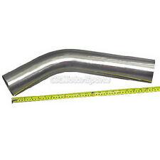 """304 Stainless Mandrel Bend Pipe Tubing Tube 3.5"""" 45"""