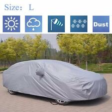 Full Car Cover Waterproof Sun UV Snow Dust Rain Resistant Protection For Sedan