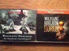 Wolfgang Hohlbein [12 CD] Horus + Der Vampyr CHRONIK DER UNSTERBLICHEN II